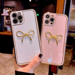 NEW iPhone 12/11/Pro/Max Cute Bow-Knot case